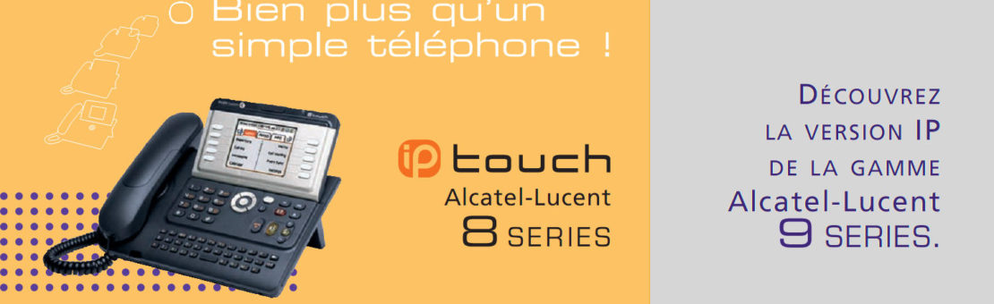 Alcatel-Lucent 4018-4028-4038-4068 IP Touch