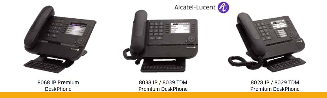 Alcatel-Lucent Gamme DeskPhone